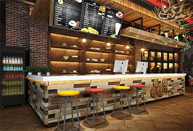 咖啡馆、面包房装修